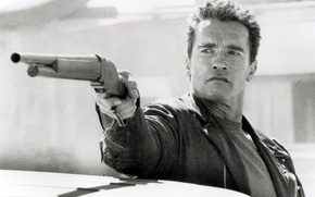 Wallpaper Terminator 2, man, Arnold Schwarzenegger, actor, Judgment Day, Terminator 2, Judgment day, The Terminator, Arnold ...