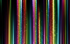 Wallpaper strip, glow, colorful