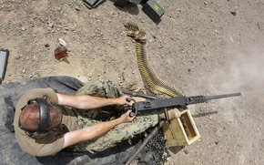 Picture weapons, soldiers, M2 .50-caliber machine gun