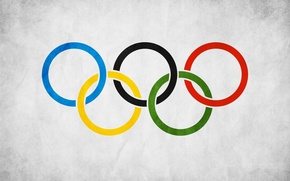 Picture ring, flag, Olympics, flag