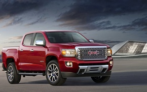 Picture pickup, Crew Cab, Giemsa, SUV, GMC, Canyon