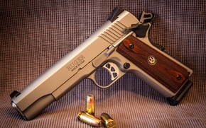 Picture weapons, semi-automatic, SR1911, Ruger, gun