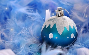 Picture toy, new year, ball, Christmas, ball, decoration