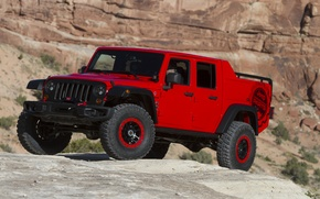 Picture Concept, jeep, the concept, Wrangler, Jeep, 2015, Wrangler, Red Rock Responder