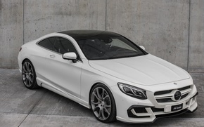 Picture Mercedes-Benz, grey background, Design, FAB, S-Class, Ethon
