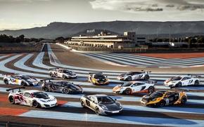 Picture the sky, McLaren, supercar, racing track, MP4-12C, Paul Ricard, MP4-12C, McLaren, Paul Ricard
