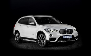 Wallpaper BMW, BMW, black background, crossover, xDrive, F48