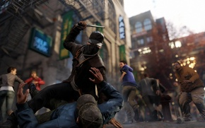 Picture game, Chicago, action, Watch Dogs, Aiden Pearce