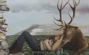 Picture picture, Daybreak, Norwegian artist, Christer Karlstad
