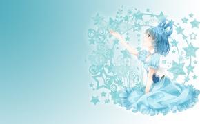 Picture dream, girl, tenderness, art, touhou, fumiko, kaku seiga, Zvezda