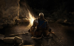 Picture dospehi, Dark Souls, knight, sword