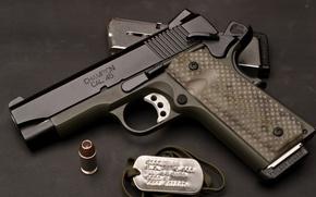 Wallpaper weapons, cartridge, Custom, clip, cal.45, 1911, Armory, TRP, tuning, champion, Springfield, gun