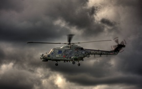 Picture the sky, flight, helicopter, Wildcat, military transport, Agusta Westland, Super Lynx
