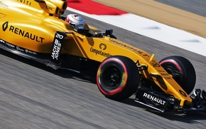 Picture Renault, Formula 1, Yellow, Kevin Magnussen