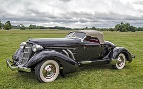 Picture retro, classic, Auburn, 1935 Auburn 851 SC Boattail Speedster