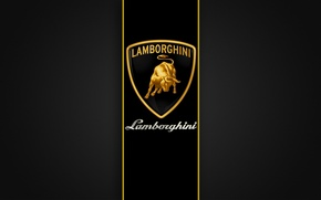 Wallpaper emblem, lamborghini, Lamborghini, label