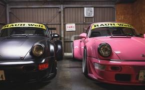 Picture porsche, Porsche, rauh-welt