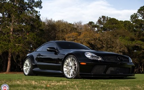 Picture Mercedes, Black, Series, SL65, HRE, P103, of Speed Amelia Island, Festivals
