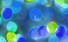 Wallpaper light, sheet, color, ball, spot
