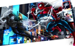 Picture spider man, fan art, the amazing spider man, cety