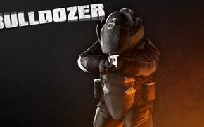 Picture Bulldozer, PAYDAY 2, Bulldozer, Black Bulldozer