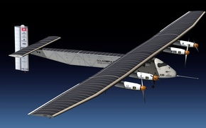 Wallpaper the plane, fly, due, able, the energy of the Sun, Solar Impulse 2
