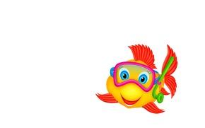 Picture fish, art, children's