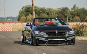 Picture BMW, BMW, turbo, wheels, Coupe, tuning, power, front, face, germany, angel eyes, F82, f83