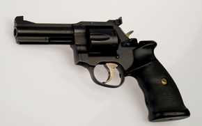 Wallpaper revolver, trunk, magnum, gun