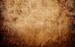 Picture background, patterns, curls, shadow, texture, silhouette, brown