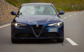 Picture Blue, Alfa Romeo, Alpha, FAS, Gulia