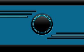 Picture blue, lines, neon, Frontier