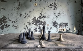 Wallpaper chess, figure, the game