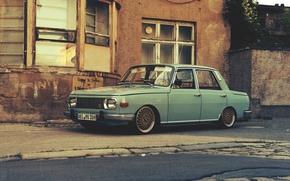 Picture car, german, wartburg, Wartburg