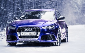 Picture Audi, RS6, Audi RS6, DC Tuning, mila skidanchuk, Audi RS6 Dark Blue Chrome by DC …