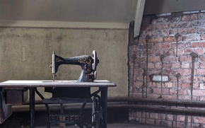 Picture background, Singer, sewing machine