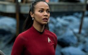 Picture cinema, girl, Star Trek, soldier, dress, woman, war, movie, face, film, human, head, attack, uniform, …