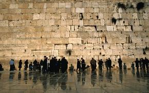 Picture wall, Jerusalem, Wailing Wall