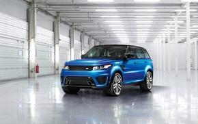 Wallpaper Land Rover, Range Rover, Sport, 2015, SVR