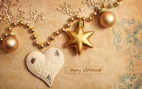 Picture decoration, holiday, new year, Christmas, Christmas balls