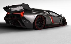 Picture Lamborghini, Italy, Car, Lamborghini, Pirelli, Sports car, Spoiler, Veneno