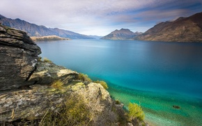 Picture water, mountains, Lake