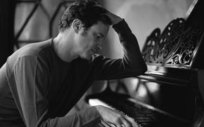 Wallpaper Colin Firth, actor, colin firth, plan, actor, piano