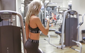 Picture Bring Alexandra, selfie, fitness, gym, model, pose