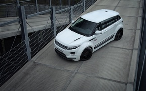 Picture machine, white, Land Rover, Range Rover, Evoque, range Rover, Prior-Design, PD650