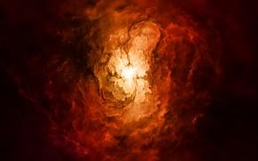Picture light, fire, energy, Sci fi
