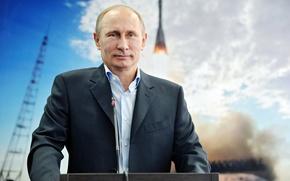 Picture rocket, Russia, Putin