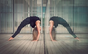 Picture grace, gymnast, Eva Le Bolzer, otrajenia