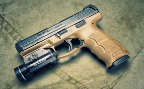 Wallpaper 9 mm, self-loading pistol, Heckler & Koch, VP9
