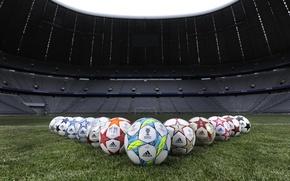 Picture football, the ball, football, ball, munich, wital, Allianz arena